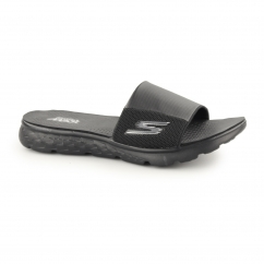 ON THE GO 400-COOLER Mens Slider Flip Flops Black