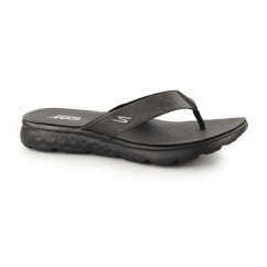 ON THE GO 400-VISTA Mens Toe Post Flip Flops Black