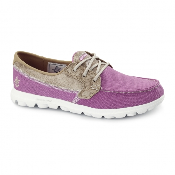 skechers on the go breezy womens boat shoes pink