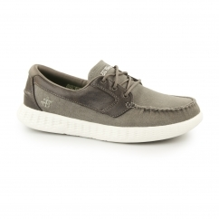 ON THE GO-GLIDE Mens Boat Shoes Taupe