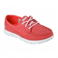ON THE GO MIST Ladies Boat Shoes Red