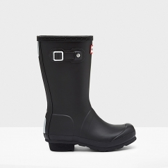 ORIGINAL Kids Rubber Wellington Boots Black