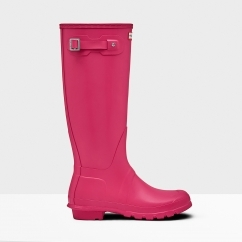 ORIGINAL TALL Ladies Rubber Wellington Boots Bright Pink
