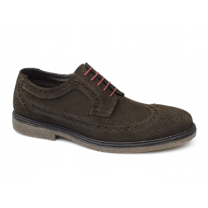 Red Tape Brogues In Suede ngy4EcdLG