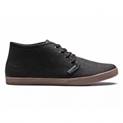 OSLO Mens Lace-Up Casual Boots Black