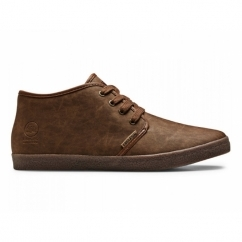 OSLO Mens Lace-Up Casual Boots Brown