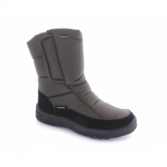 BLIZZARD Ladies Waterproof Warm Lined Velcro Boots Brown