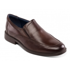 Padders BOND Mens Leather Wide (G Fit) Shoes Brown