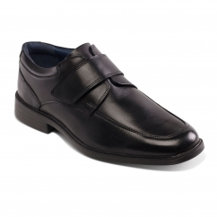 Padders BRENT Mens Leather Wide (G Fit) Shoes Black