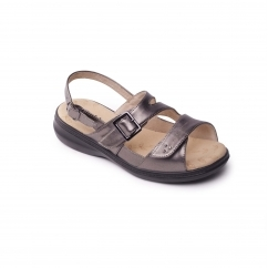 Padders LAURA 2 Ladies Other Extra Wide (3E) Sandals Pewter