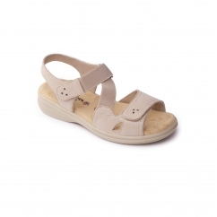 Padders LOUISE 2 Ladies Other Extra Wide (3E) Sandals Beige