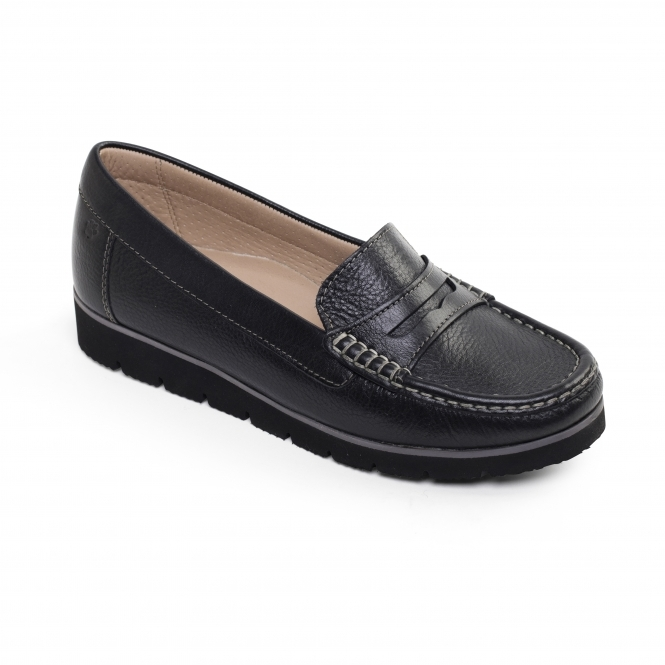 Ladies Wide Fit Leather Shoes Uk