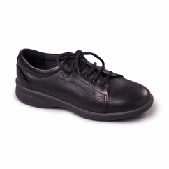 REFRESH 2 Ladies Leather Extra Wide (3E/4E) Shoes BlackPatent
