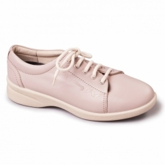 REFRESH 2 Ladies Leather Extra Wide (3E/4E) Shoes Nude
