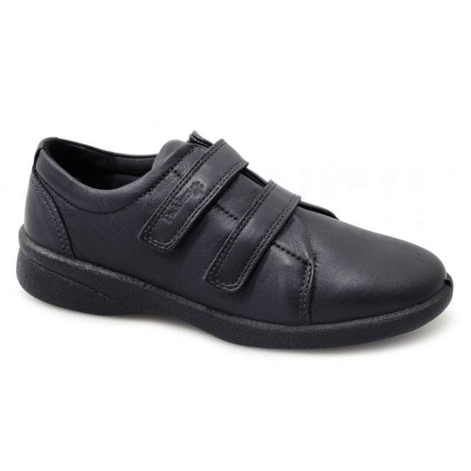 Padders REVIVE Ladies Wide EEE/EEEE Fit Shoes Navy