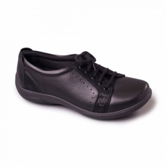 SONNET Ladies EEE/EEEE Extra Wide Fit Shoes Black