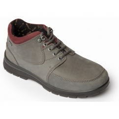 SUMMIT Ladies Waterproof Leather Dual Fit Lace Up Boots Grey