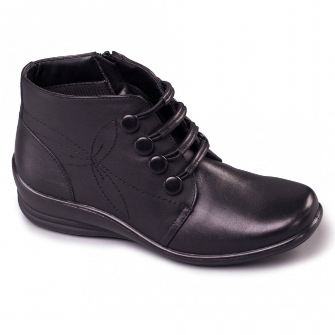 Padders TANYA Ladies Leather E/EE Wide