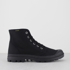 PAMPA HI ORIGINALE Mens Canvas Boots Black