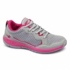 PALM Ladies Sports Running Trainers Grey