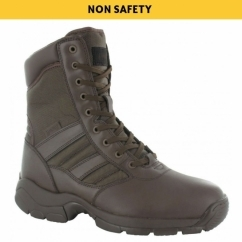 PANTHER 8.0 Unisex Non-Safety Combat Boots Brown