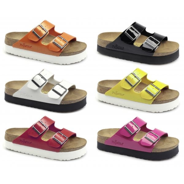 318a775c2a0b Papillio By Birkenstock ARIZONA 363883 (Nar) Ladies Birko-Flor Two Strap  Sandals Graceful