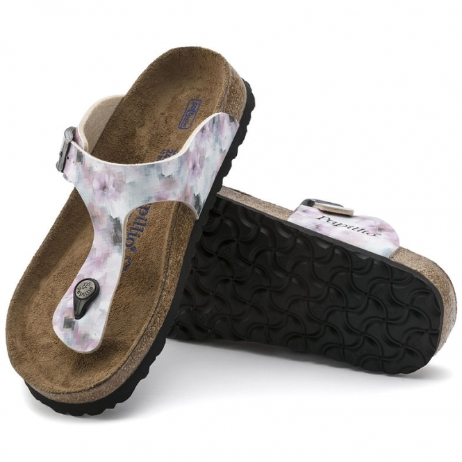 ff0dcaad21f7 Papillio GIZEH 1005925 Ladies Toe Post Sandals Pixel Rose