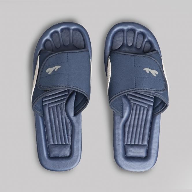8aae89ec8cda PDQ Mens Womens Beach Shower Mules Blue