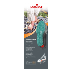 Pedag VIVA OUTDOOR Unisex Insoles Green