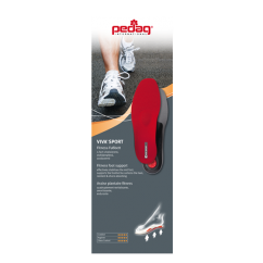 VIVA SPORT Unisex Insoles Red