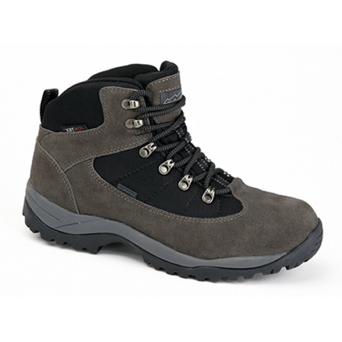 Johnscliffe PENNINE Unisex Suede Waterproof Hiking Boots Grey