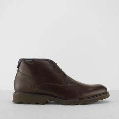 Pikolinos GLASGOW Mens Leather Derby Shoes Brown |  Shuperb