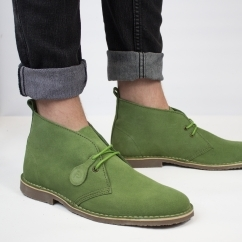 Popps™ COLOUR Unisex Suede Desert Boots Green