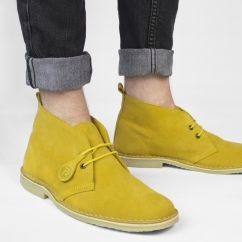 Popps™ COLOUR Unisex Suede Desert Boots Yellow