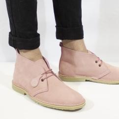 ce7bcec185f3 Popps™ COLOUR Unisex Suede Desert Boots Light Pink