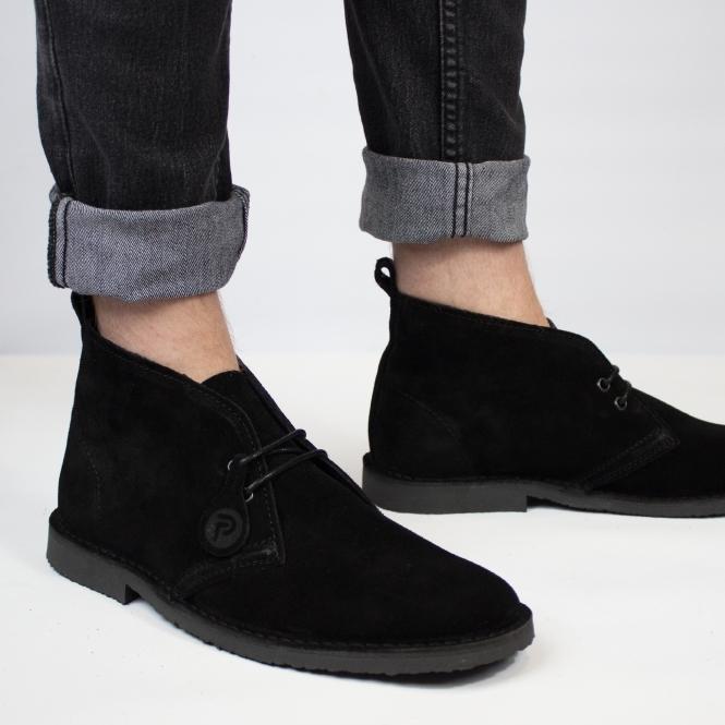 a1040a3fc78 ORIGINAL Unisex Suede Desert Boots Black