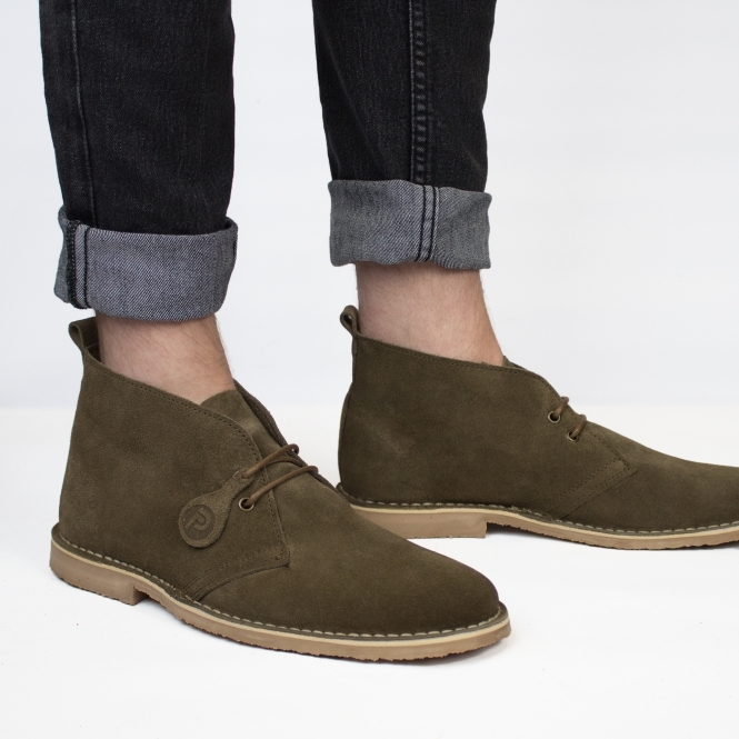 e395c9ccbb0 ORIGINAL Unisex Suede Desert Boots Dark Brown