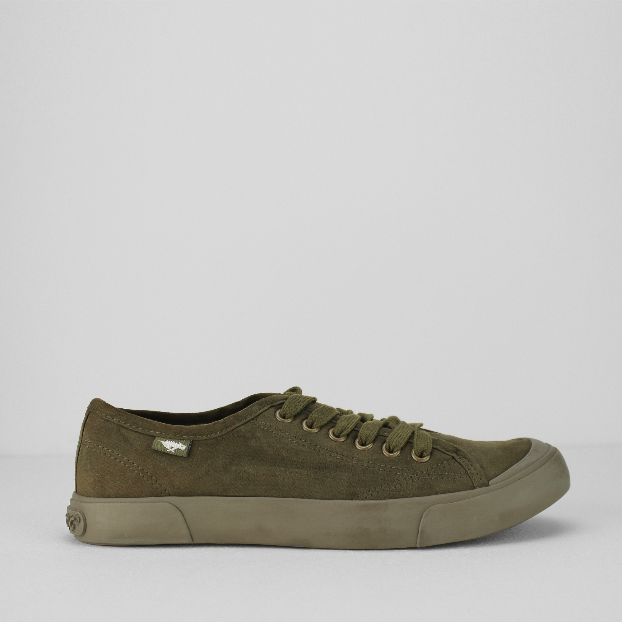 Womens Jumpin Trainers, Army Rocket Dog