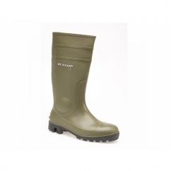 PROTOMASTOR Unisex S5 SRA Safety Wellington Boots Green