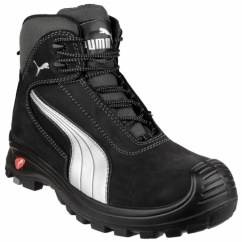 CASCADE MID 630210 Mens Leather Safety Boots Black