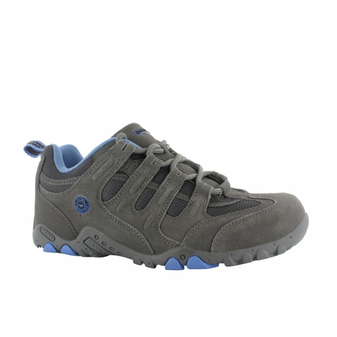 Hi-Tec QUADRA CLASSIC Ladies Walking Shoes Grey/Charcoal
