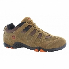 QUADRA CLASSIC Mens Walking Shoes Brown/Orange