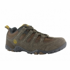 QUADRA CLASSIC Mens Walking Shoes Brown/Taupe/Gold