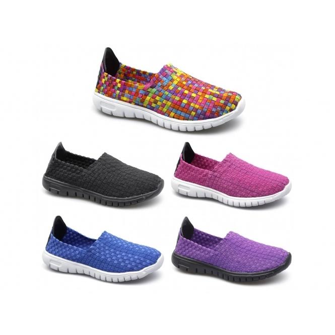 9ab668450b2 Divaz RAFT Ladies Trainers Multicoloured