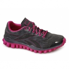 REALFLEX TRAIN Ladies Running Trainers Grey Pink