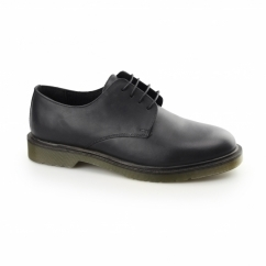 AVON Mens 4 Eyelet Uniform Shoes Black