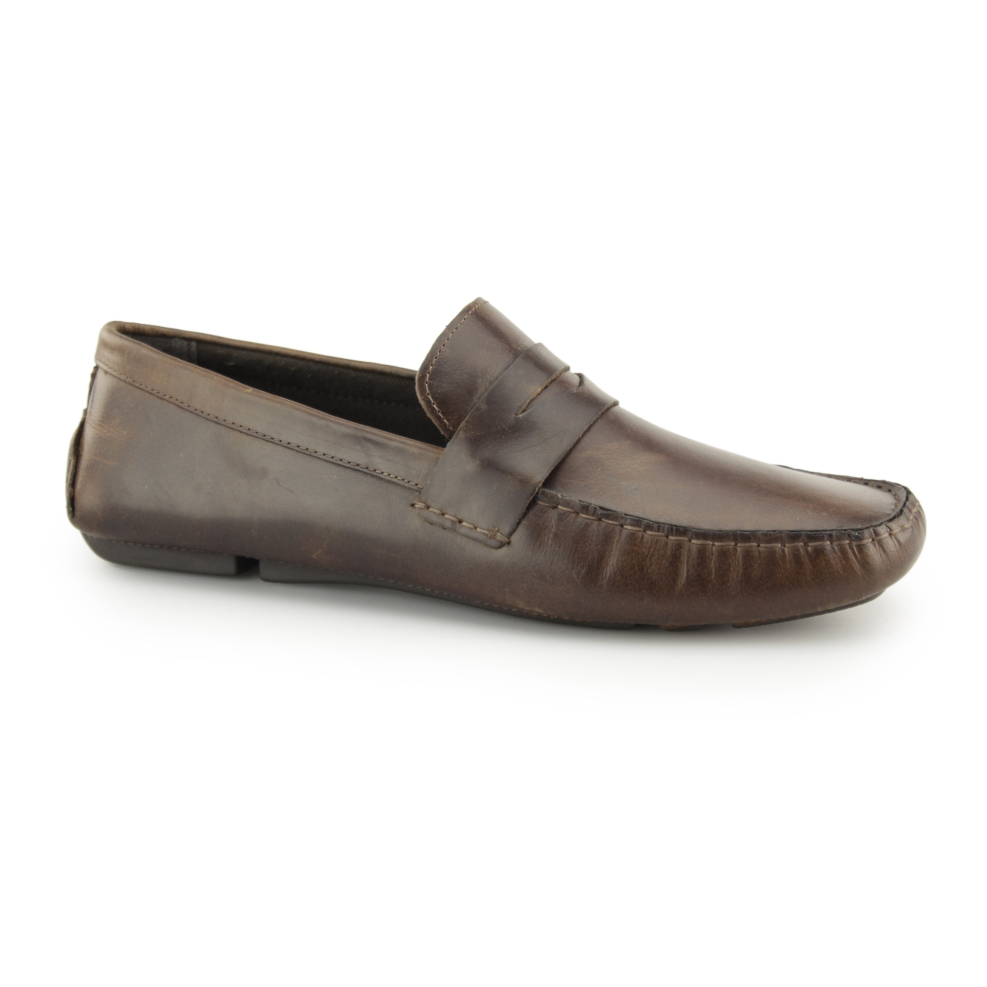 6fb83b328c9 Red Tape CRANFIELD Mens Leather Driving Loafers Tan