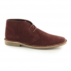 GOBI II Mens Suede Leather Desert Boots Marron