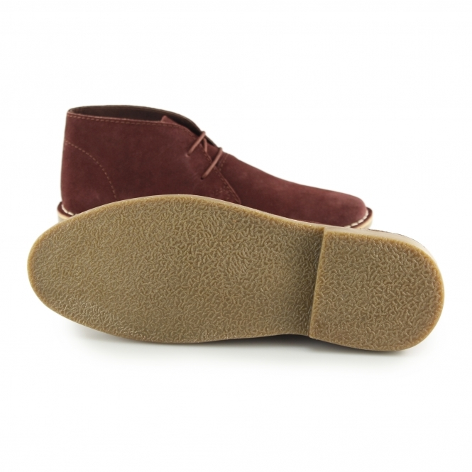 c2292339a8d Red Tape GOBI II Mens Suede Leather Desert Boots Marron