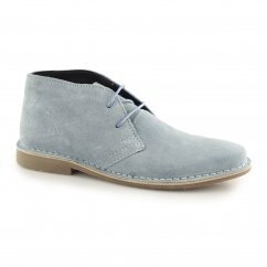 GOBI II Mens Suede Leather Desert Boots Sky Blue